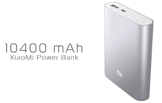 Xiaomi Power Bank 10.400 mah