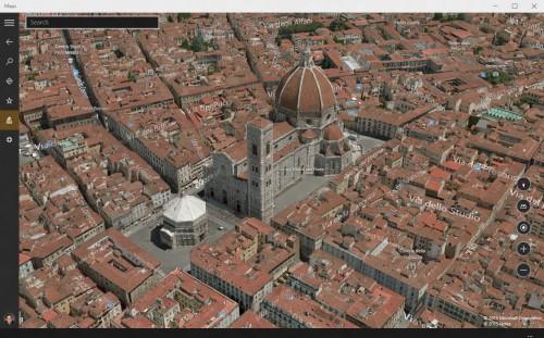 Florencia en Windows 10 Maps - Let's Geek