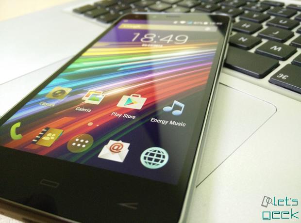 Vista desde ángulos complicados - Energy Phone Pro HD