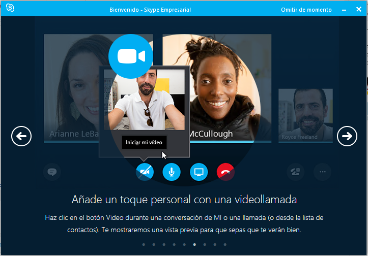 Conferencias en Skype for Business