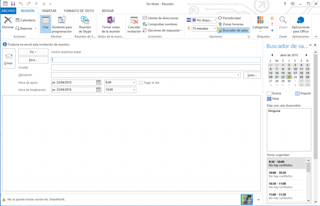 Outlook + Skype for Business