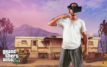Trevor con el Oculus