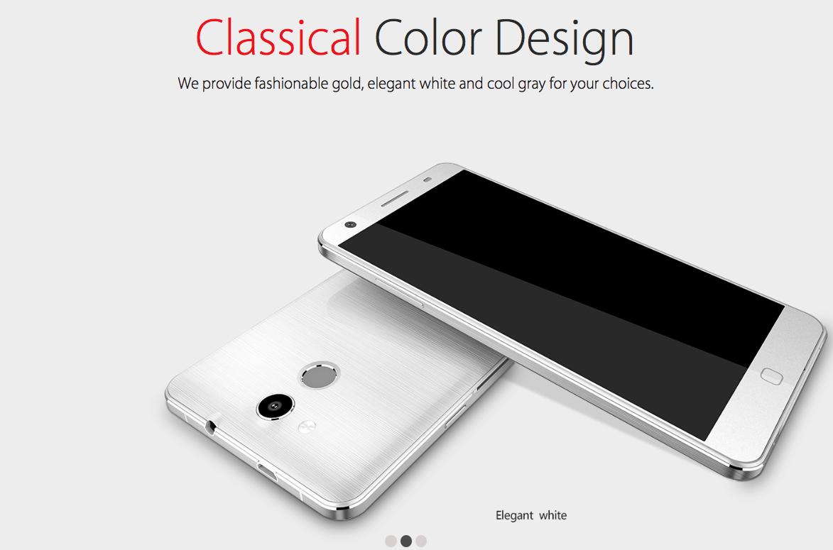 Elephone P7000 blanco