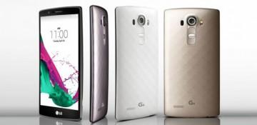 LG G4 con acabado metálico
