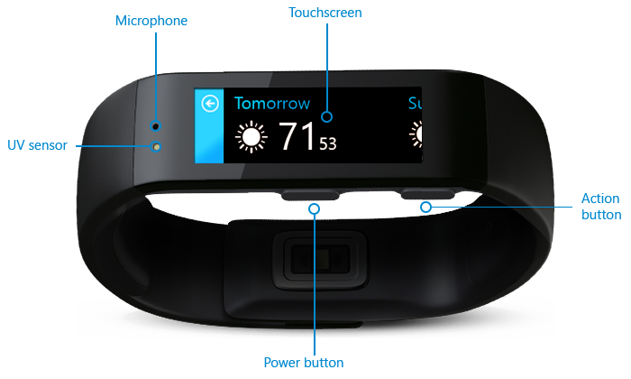 Microsoft Band Europa - Let's Geek
