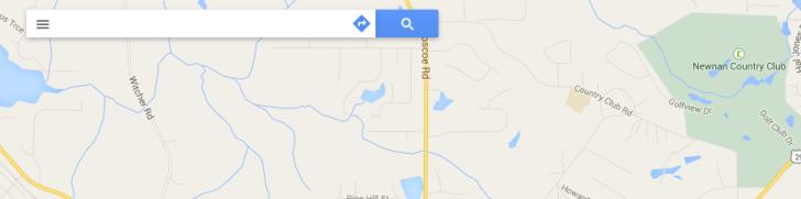 Cajón de navegación google maps