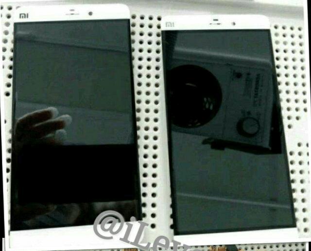 Supuesto frontal del Xiaomi Mi5