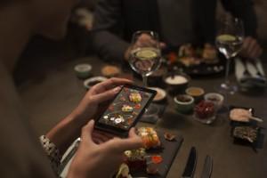 Xperia Z3+ Modo Gourmet