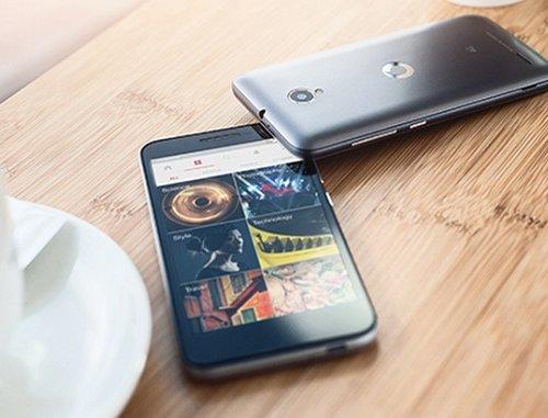 Diseño delantero y trasero Vodafone Smart Prime 6