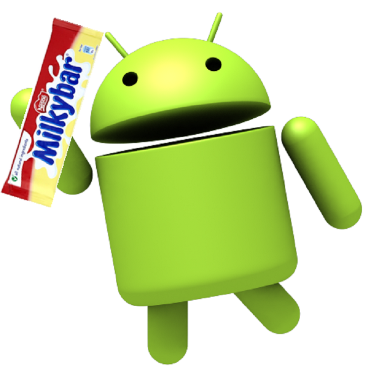 Android MilkyBar