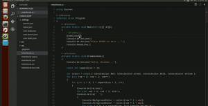 Visual Studio Code en Ubuntu