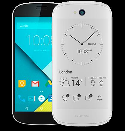 YotaPhone 2 blanco