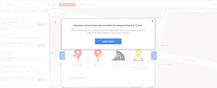 Google mapmaker