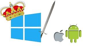 Microsoft vs Android vs Apple