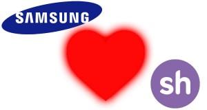 Samsung se alía con Sherpa