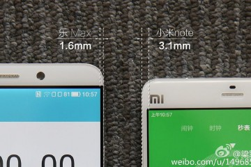 Xiaomi Mi note vs Le TV