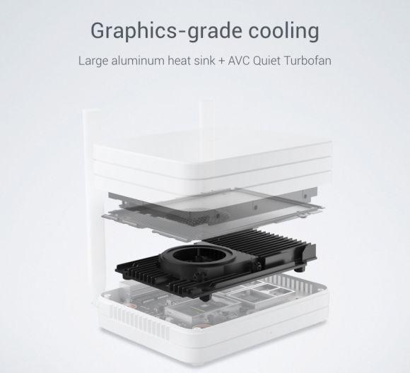 Diseñado para no calentarse