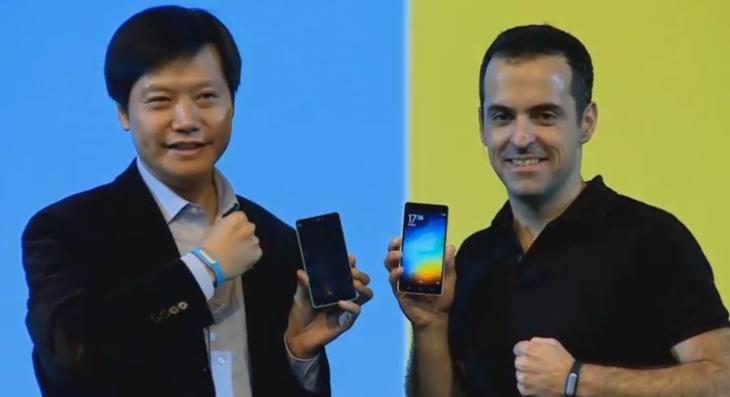Xiaomi Mi4 y Hugo Barra