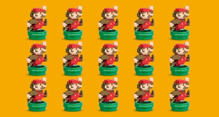Amiibo Mario 8 bits