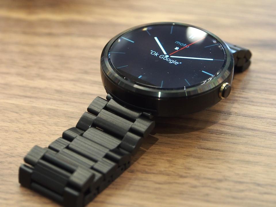 Predecesor del nuevo smartwatch de Motorola