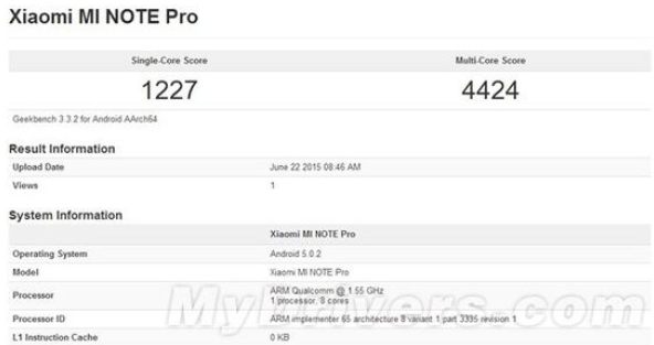 Geekbench Snapdragon 810