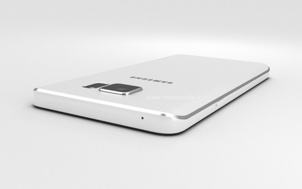 Render Samsung Galaxy Note 5