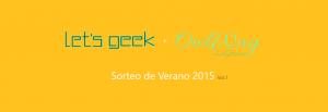 Sorteo Let's Geek