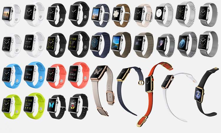 Tipos de Apple Watch