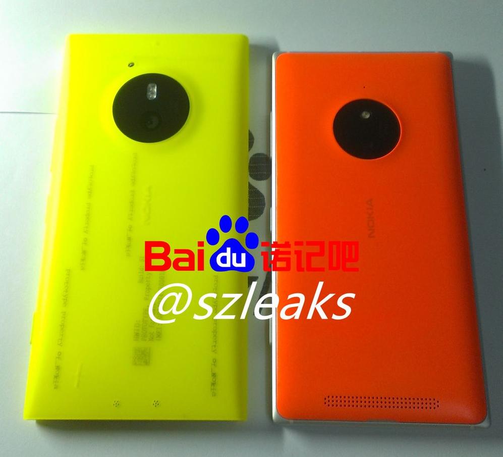 comparación Lumia 830 con Lumia saana