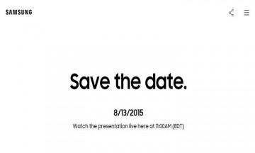 evento de Samsung