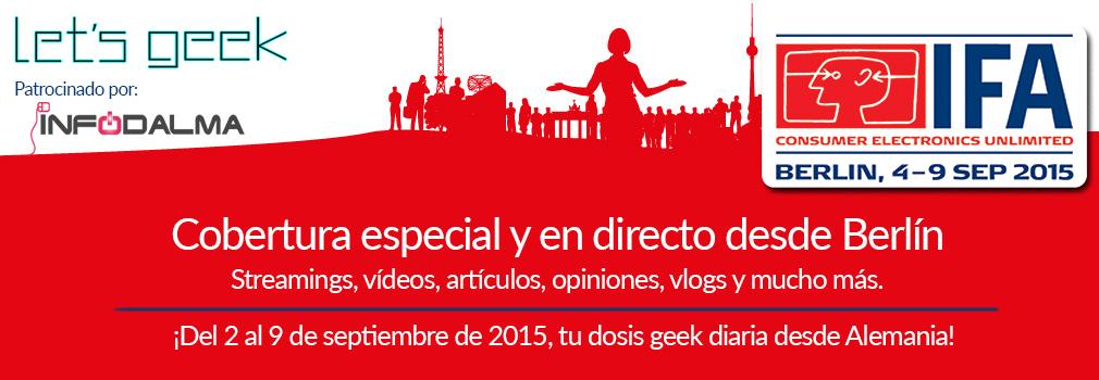 IFA 2015 Let's Geek