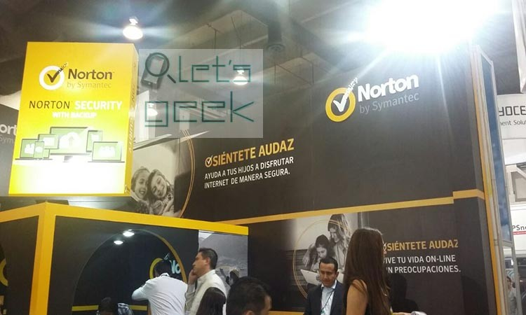 Stand de Norton Security