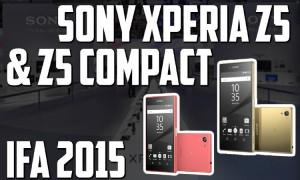 Sony Xperia Z5 y Compact