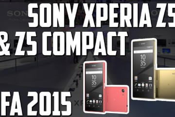 Sony Xperia Z5 y Compact