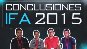 Conclusiones IFA 2015 Let's Geek
