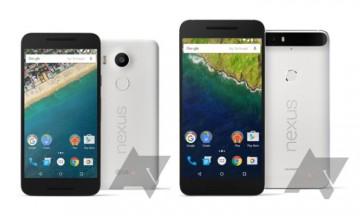 Nexus 5X y 6P