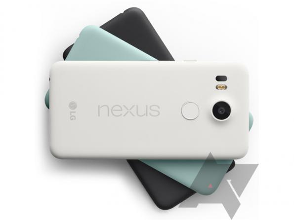 Colores disponibles Nexus 5X