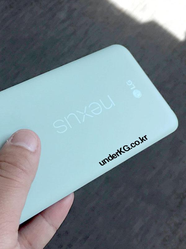 Parte trasera Nexus 5X