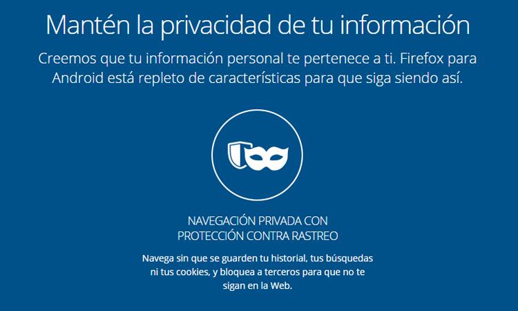 Protección contra rastreo
