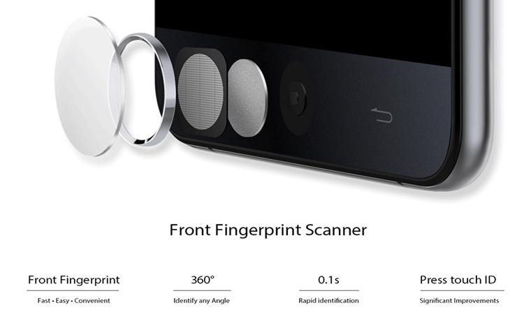 Ulefone 3 fingerprint