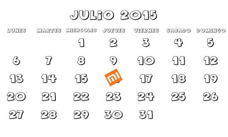 16 de Julio Xiaomi