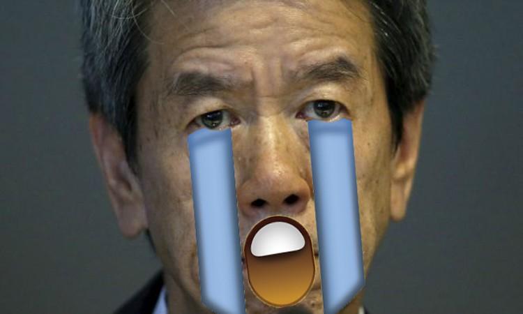 Hisao Tanaka cry