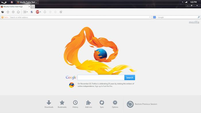 Firefox 39