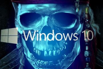 Windows 10 piracy