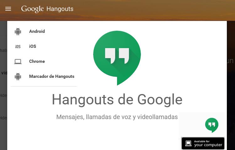 Hangouts Web
