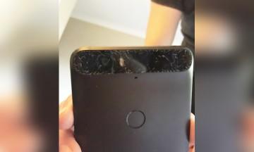 Nexus 6P cristal roto